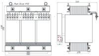 Трехфазный печной трансформатор ТСЭ 63-380/60