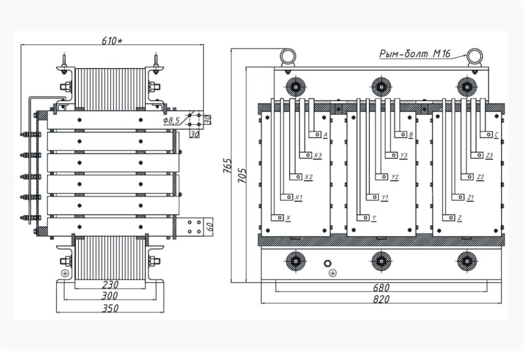 Трансформатор ТСЭ 160-380/43