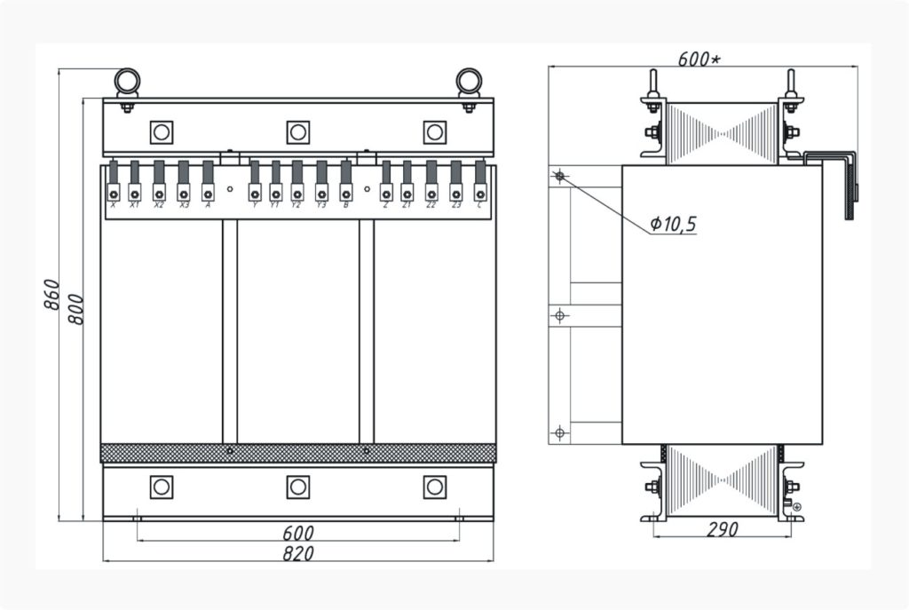 Трансформатор ТСЭ 160-380/50