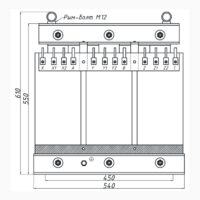 Печной трехфазный трансформатор ТСЭ 63-380/120