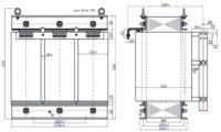 Трехфазный печной трансформатор ТСЭ 40-380/17