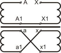 Схема электрическая трансформатора ОСЭ 40-380/17 У3
