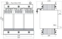 Печной трансформатор ТСЭ 25-380/71 У3