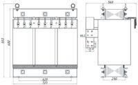 Печной трансформатор ТСЭ 80-380/44 У3