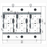 Трехфазный печной трансформатор ТСЭ-250-380/21