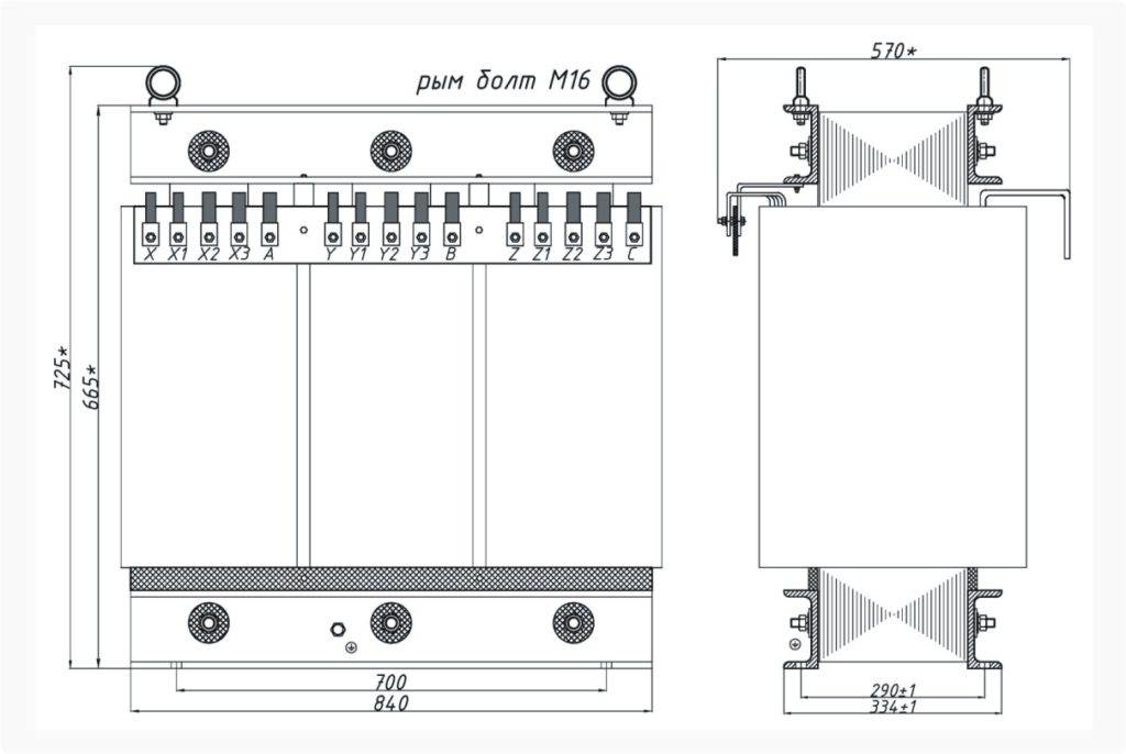 Трансформатор ТСЭ 160-380/150