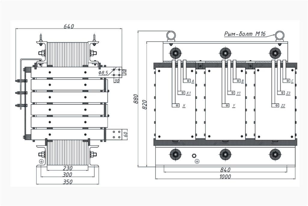 Трансформатор ТСЭ 200-380/53
