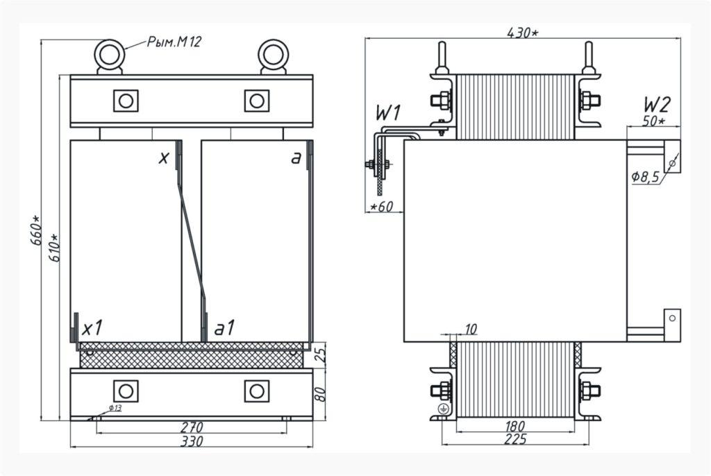 Трансформатор ОСЭ 25-380/50
