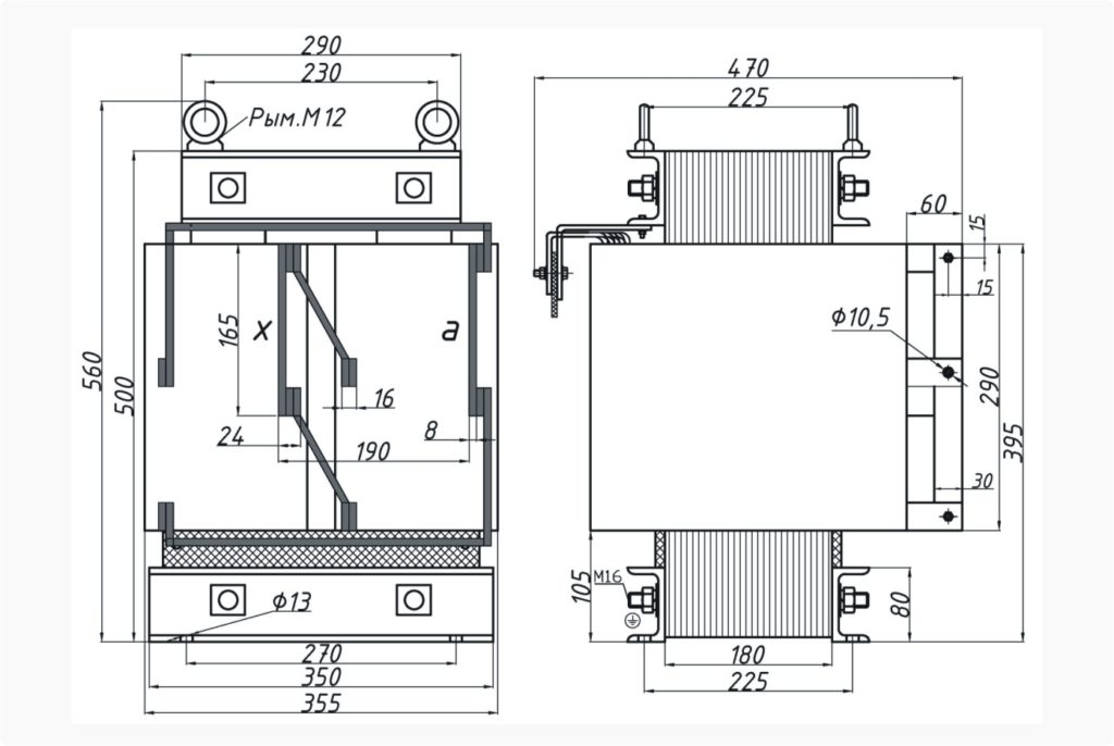 Трансформатор ОСЭ 25-380/14